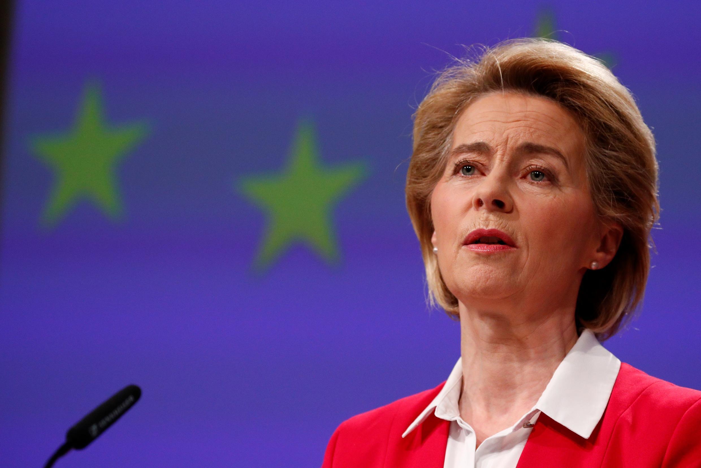 (FILE PHOTO) European Commission chief Ursula von der Leyen.