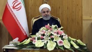 Hassan Rohani, dimanche 23 septembre 2018, à Téhéran.