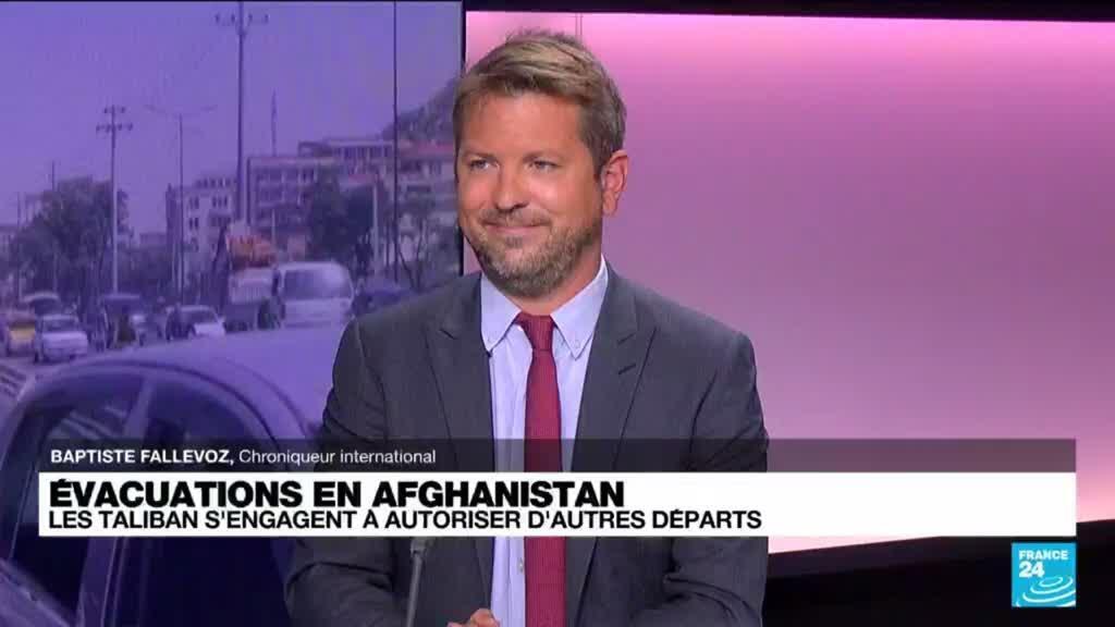 2021-08-30 11:05 Évacuations en Afghanistan : les taliban s'engagent à autoriser d'autres départs