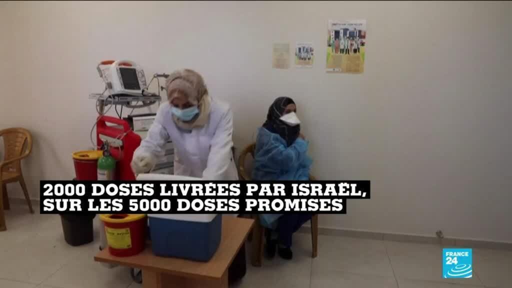2021-02-05 10:10 Covid-19 : le vaccin russe Spoutnik V arrive en Cisjordanie