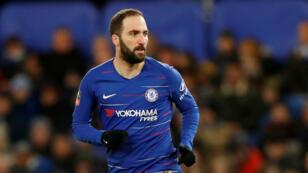 Le buteur argentin Gonzalo Higuain a quitté l'AC Milan pour Chelsea.