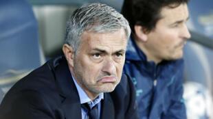 José Mourinho, désormais ex-entraîneur de Chelsea.