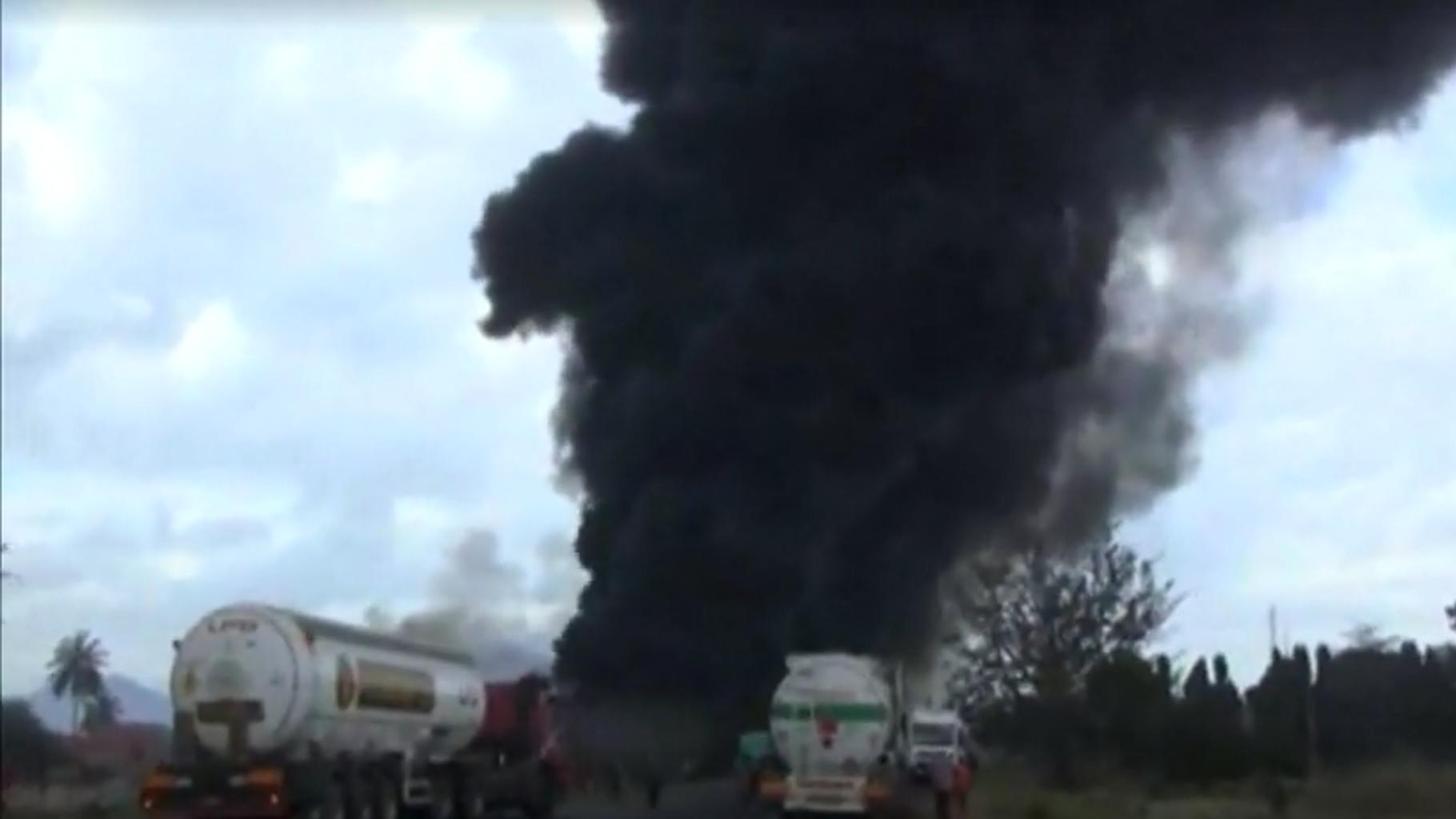 Los hechos ocurrieron en una autopista comúnmente concurrida por camiones cisterna que salen del puerto de Dar es Salam, la capital tanzana. 10 de agosto de 2019.