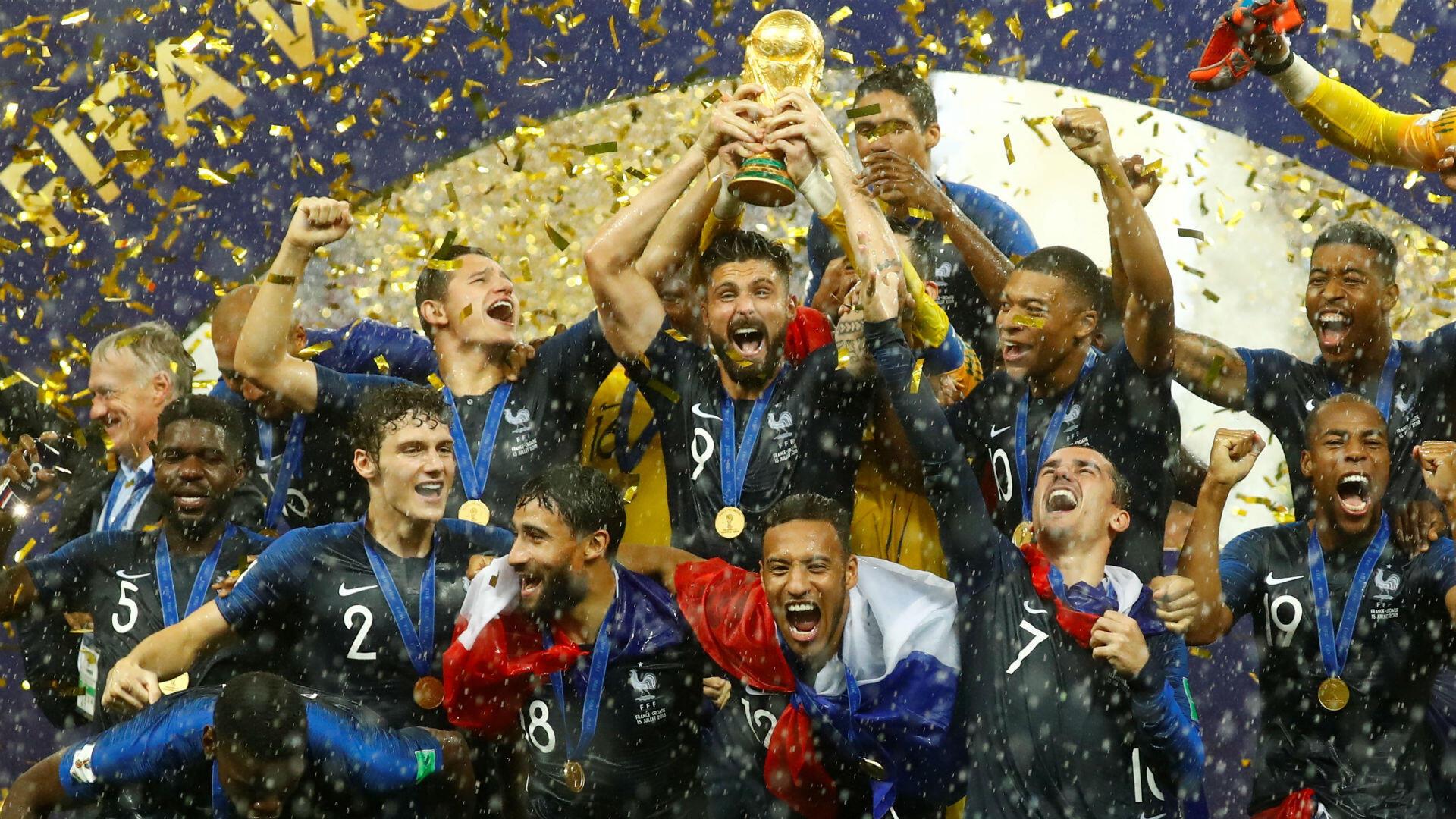 Sans contestation possible, le moment phare de cette année 2018. Face à la Croatie (4-2), la France remporte la deuxième Coupe du monde de football de son histoire. Une deuxième étoile pour l'éternité.