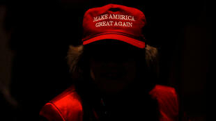 Un supporter de Trump à Indianapolis (Indiana), le 6 novembre 2018.