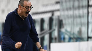 Maurizio Sarri can win his first title as Juventus coach against Sampdoria on Sunday