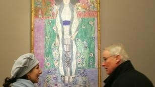 "Gustav Klimt's ""Adele Blocher-Bauer II"", one of the paintings seized by the Nazis and later caught up in a legal battle over ownership"
