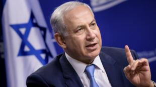 Le Premier ministre israélien Benjamin Netanyahou, à Washington D. C., le 10 novembre 2015.
