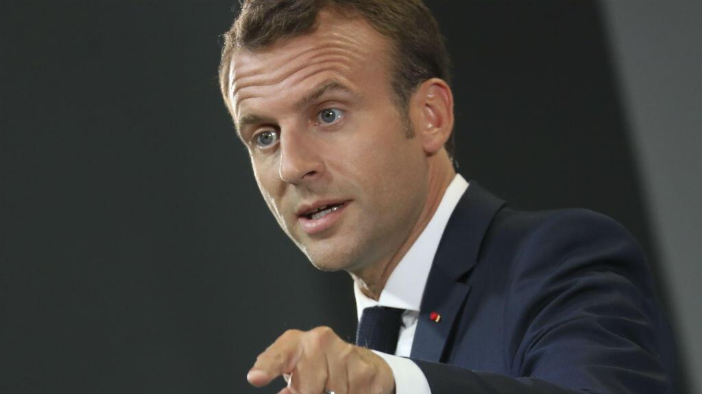 Emmanuel Macron à Montréal, au Canada, le 8 juin 2018.