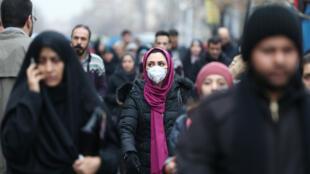 إيران أكثر دول الشرق الأوسط تضررا من فيروس كورونا. طهران 20 فبراير/شباط 2020.
