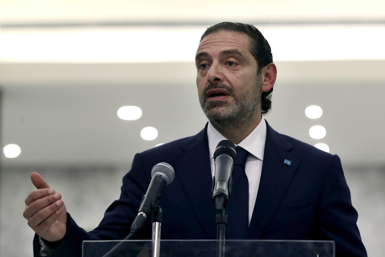 Le Premier ministre désigné du Liban, Saad Hariri, le 18 mars 2021, à Beyrouth.