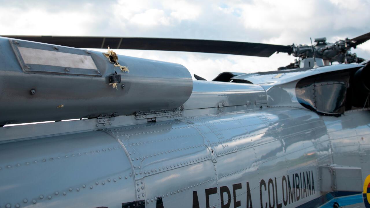 atentado_helicoptero_colombia_Duque