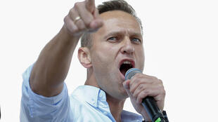 Navalny fell ill after boarding a plane in Siberia last month and was hospitalised there before being flown to Berlin