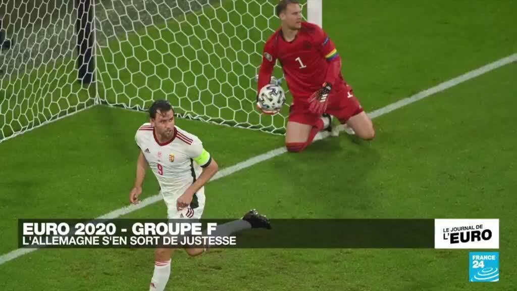 2021-06-23 23:51 Euro 2021 : la Mannschaft s'en sort de justesse face à la Hongrie et attend l'Angleterre