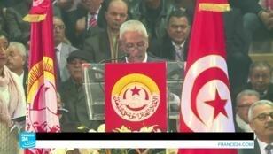 الأمين العام للاتحاد التونسي للشغل حسين العباسي