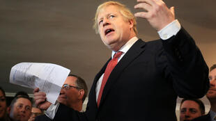 Boris Johnson UK PM Sedgefield