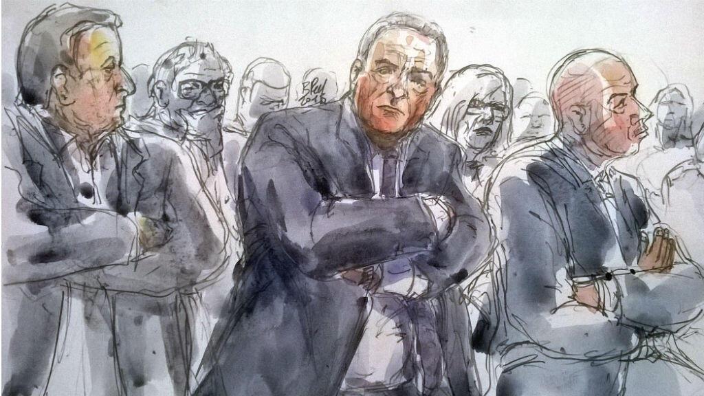 Dominique Strauss-Kahn, lors du procès, le 18 février 2015.