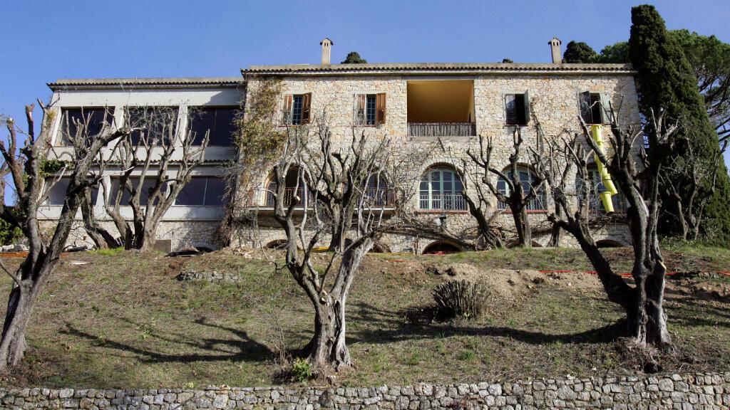 Une photo de l'ancienne demeure de Picasso à Mougins, prise le 5 février 2008.