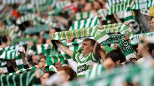 Le Celtic Park, enceinte mythique du football britannique et européen.