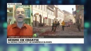 Severe earthquake kills several in Croatia