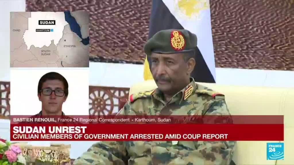 2021-10-25 09:01 Sudan unrest: General to make announcement shortly