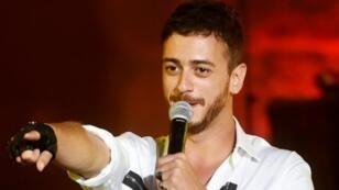 المغني المغربي سعد لمجرد في 18سبتمبر/ أيلول 2018