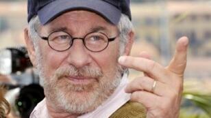Steven Spielberg à Cannes, en 2008