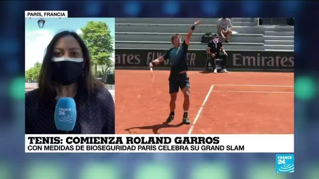 2021-05-30 14:42 Informe desde París: inició el Roland Garros con estrictas medidas de bioseguridad