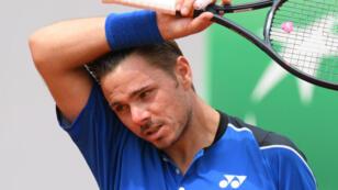 Stan Wawrinka, éliminé dès son entrée en lice à Roland-Garros.