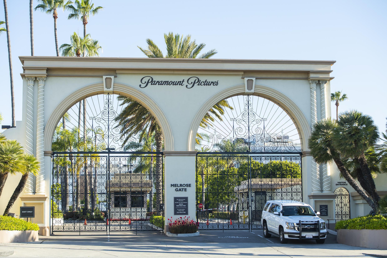 L'entrée des célèbres studios Paramount de Los Angeles, fermés pour cause de Covid-19, le 15 avril 2020.