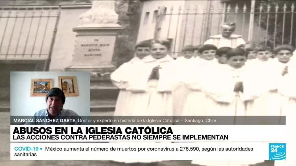 """2021-10-03 22:34 Marcial Sánchez: """"Hay un problema de encubrimiento sistémico en la Iglesia Católica"""""""
