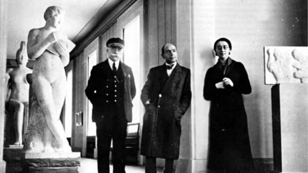 Rose Valland au Jeu de Paume en 1934