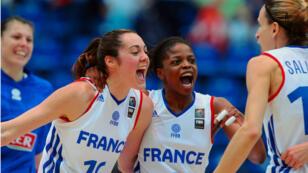 L'équipe de France féminine s'est qualifiée pour la finale de l'Euro de basket.
