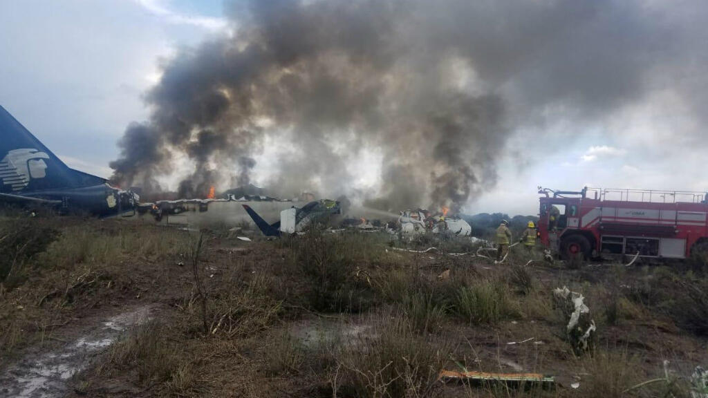 Autoridades de Aeronáutica Civil de México informaron que el avión siniestrado no logró despegar el 31 de julio de 2018.