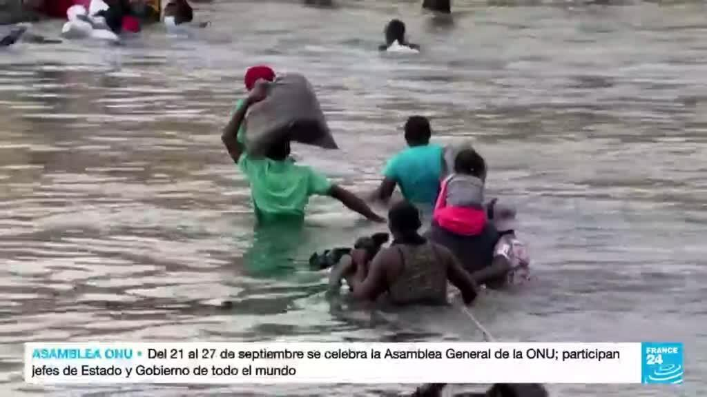 2021-09-23 03:10 Ola migratoria haitiana se desplaza por todo el continente americano