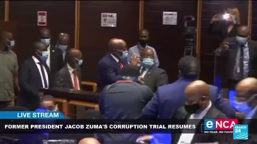 2021-06-29 15:04 Afrique du Sud : de la prison ferme pour Jacob Zuma, une décision inédite