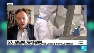 2020-05-14 14:05 Beijing rejects claims of Covid-19 vaccine theft as 'smear', as US-China blame-game continue