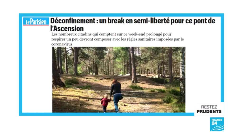 """""""Déconfinement : un break en semi-liberté pour ce pont de l'Ascension"""""""
