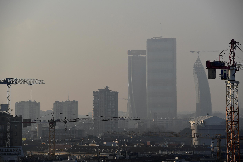 Le nord de l'Italie, où se trouve Milan, est l'une des régions européennes les plus polluées.