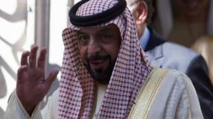 رئيس دولة الامارات الشيخ خليفة بن زايد آل نهيان