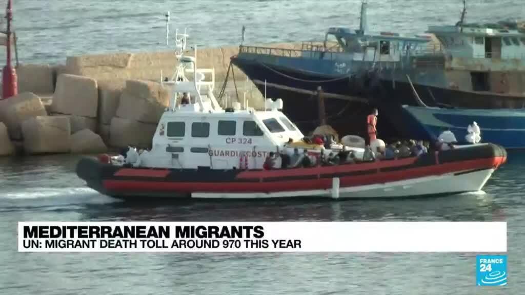 2021-07-29 15:11 At least 57 migrants die in shipwreck off Libyan coast