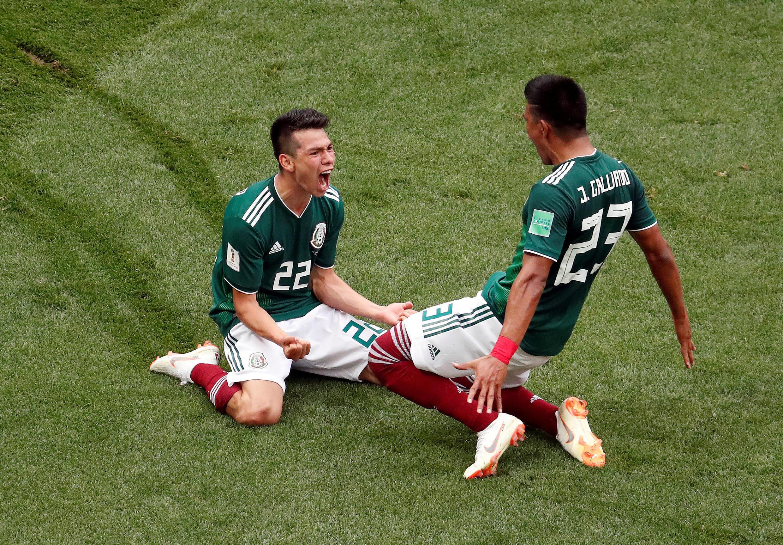 El goleador de la jornada, Hirving Lozano, le dio la victoria a México ante Alemania, actual campeón del mundo.