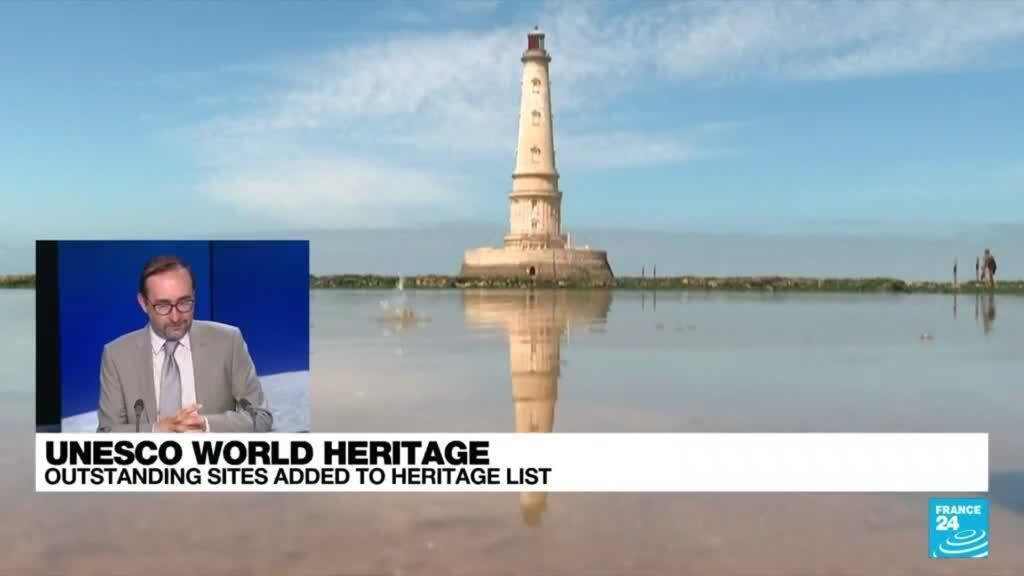 2021-07-30 10:10 UNESCO adds France's Cordouan lighthouse, Vichy to world heritage list
