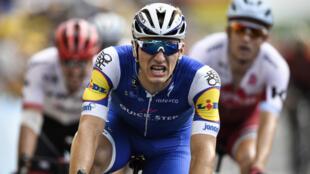 L'Allemand Marcel Kittel a remporté la septième étape du Tour de France.