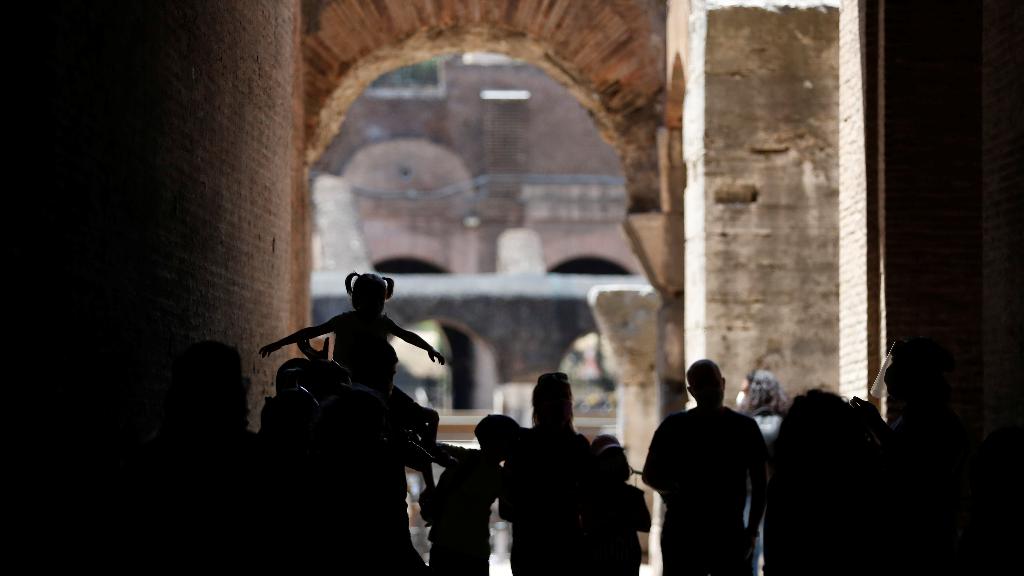 El 1 de junio trajo de vuelta la apertura de puertas del Coliseo romano, uno de los símbolos de Italia.