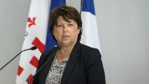 Martine Aubry, maire de Lille, le 1er septembre 2016.