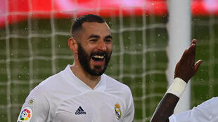 Football liga benzema madrid