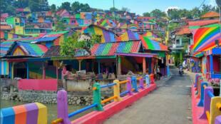 Kampung Pelangi, le Rainbow Village d'Indonésie.