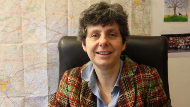 La sénatrice Corinne Bouchoux