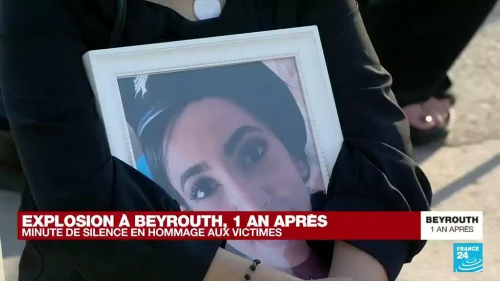 """2021-08-04 17:12 Explosion à Beyrouth, un an après : """"Les politiciens considèrent que le peuple est à leur service"""""""